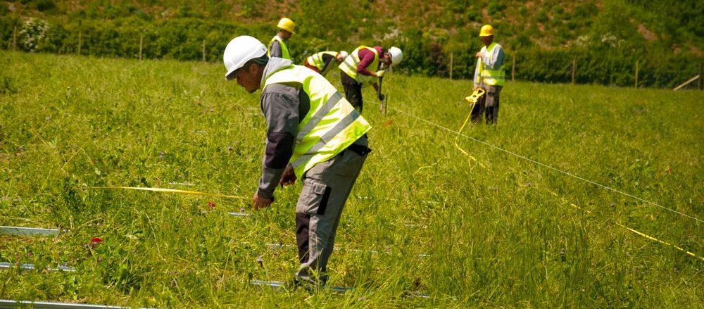 Gawcott Fields' hardworking men