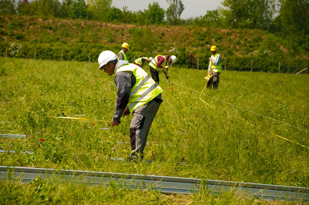 Gawcott Fields' hardworking men