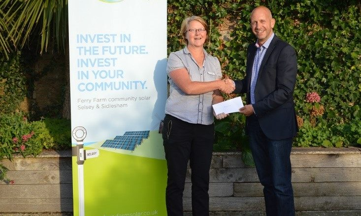 Selsey Works receives grant from Ferry Farm Community Solar