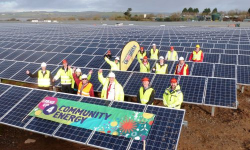 Plymouth Energy Community at Ernesettle Solar Farm