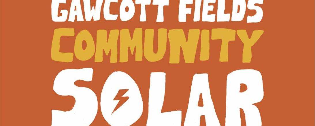 gawcott fields community solar project logo