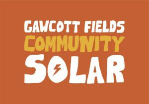 gawcott fields community solar project logo
