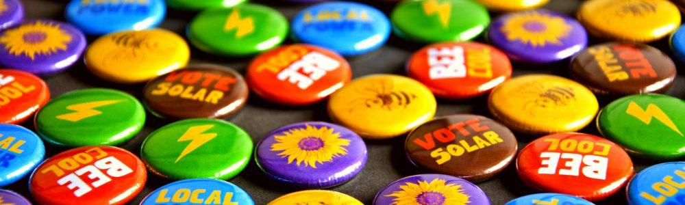 Gawcott Solar Badges