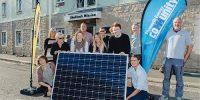 The PEC team love solar