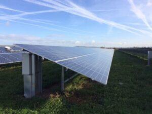 solar panels at wick farm burnham and weston energy cic