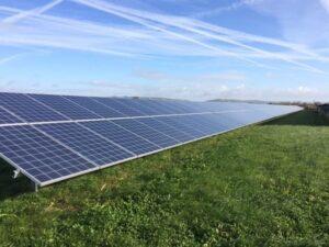 wick farm solar panels burnham and weston energy cic