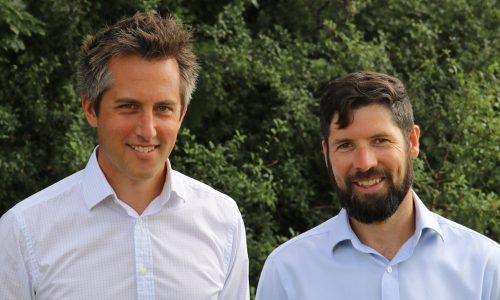 Jake Burnyeat and Tom Cosgrove